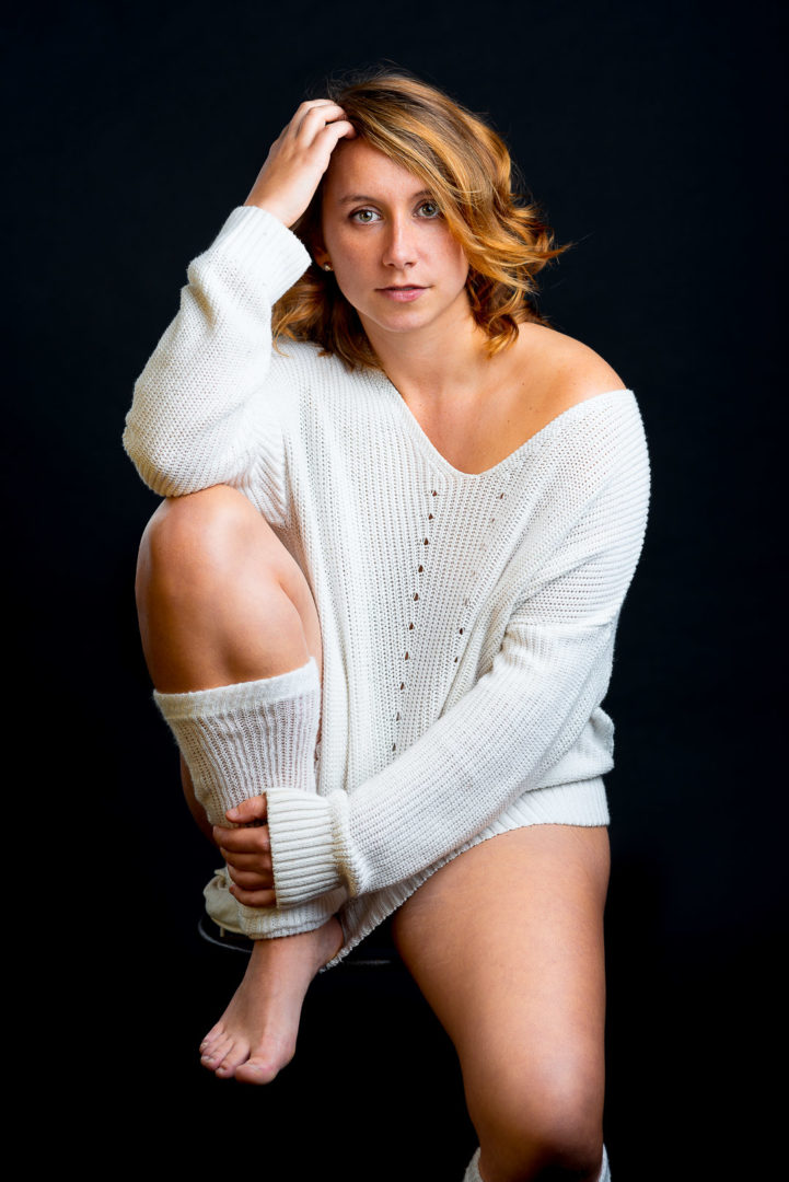 Photo de modèle en studio - Mélanie P. 3